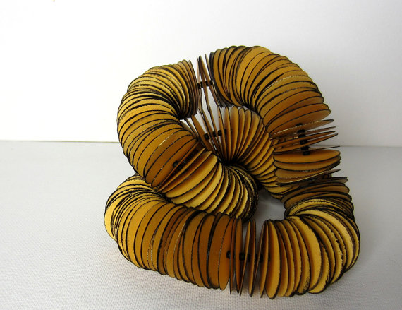 cardboard necklace